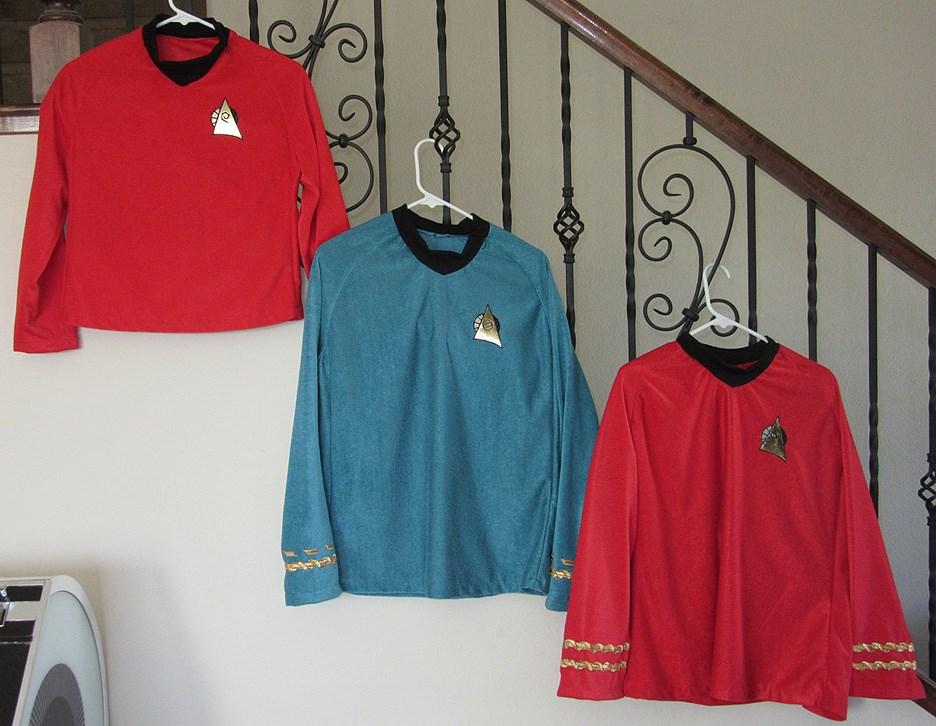 Star Trek Anthology Uniforms
