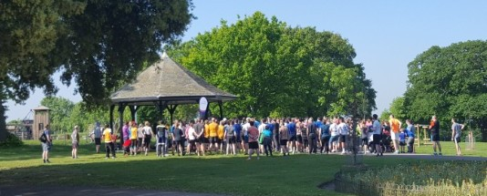 Catford ParkRun at Mountsfield Park