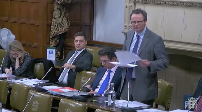 Speaking in Westminster Hall against the 2019 Loan Charge