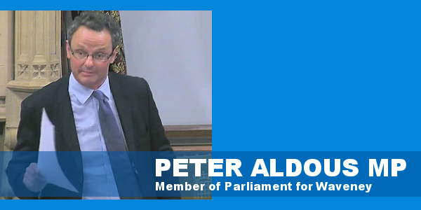 Peter Aldous MP