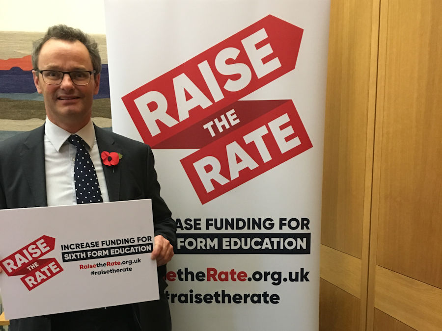 Raise the Rate campaign for Sixth Form Education Funding