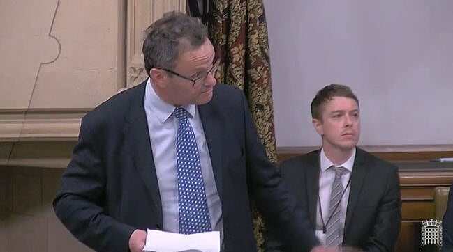 Peter Aldous MP speaking in Westminster Hall in the debate on the future of oil and gas