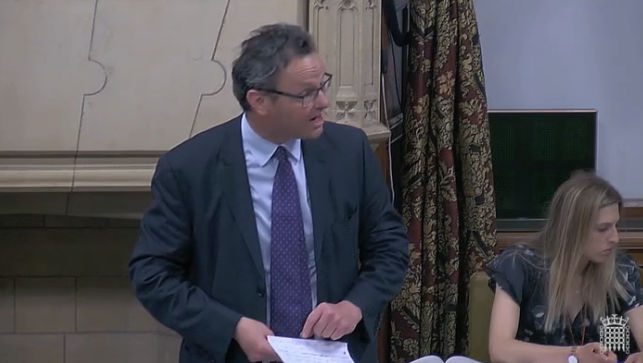 Speaking in Westminster Hall debate on rare disease PKU