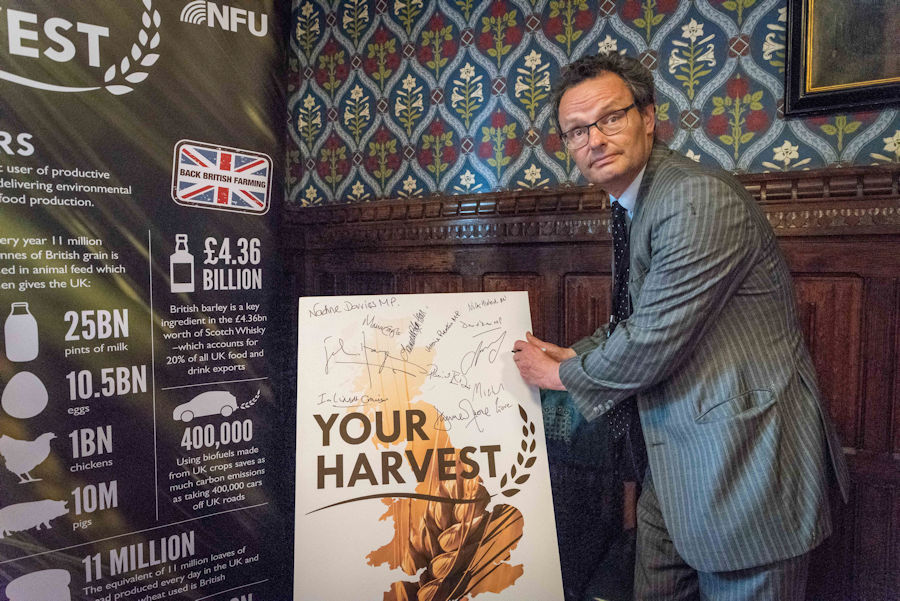 NDU #YourHarvest campaign
