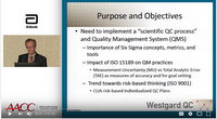 Westgard and Westgard Workshop on YouTube