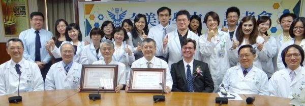Two branches of ChiMei hospital achieve Sigma VP status