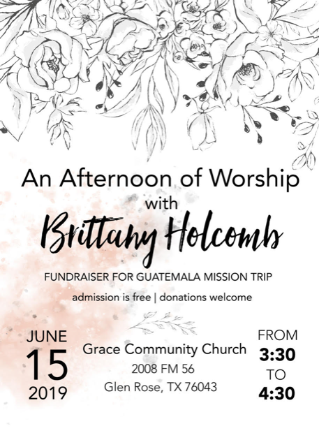 An Afternoon of Worship with Brittany Holcomb