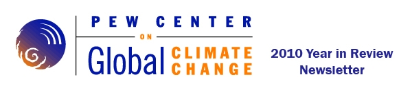 Pew Center on Global Climate 2010 Year in Review Newsletter