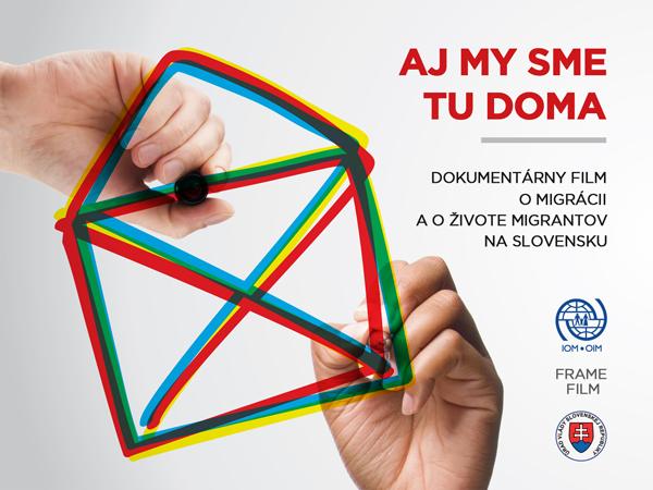 IOM - Premietajte film AJ MY SME TU DOMA vo vašom meste