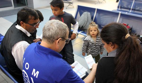Prioritou IOM je konkrétna pomoc migrantom - výsledky činnosti IOM za rok 2015
