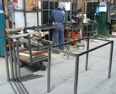 Metal Art table frames