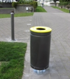 Metallion litter bins