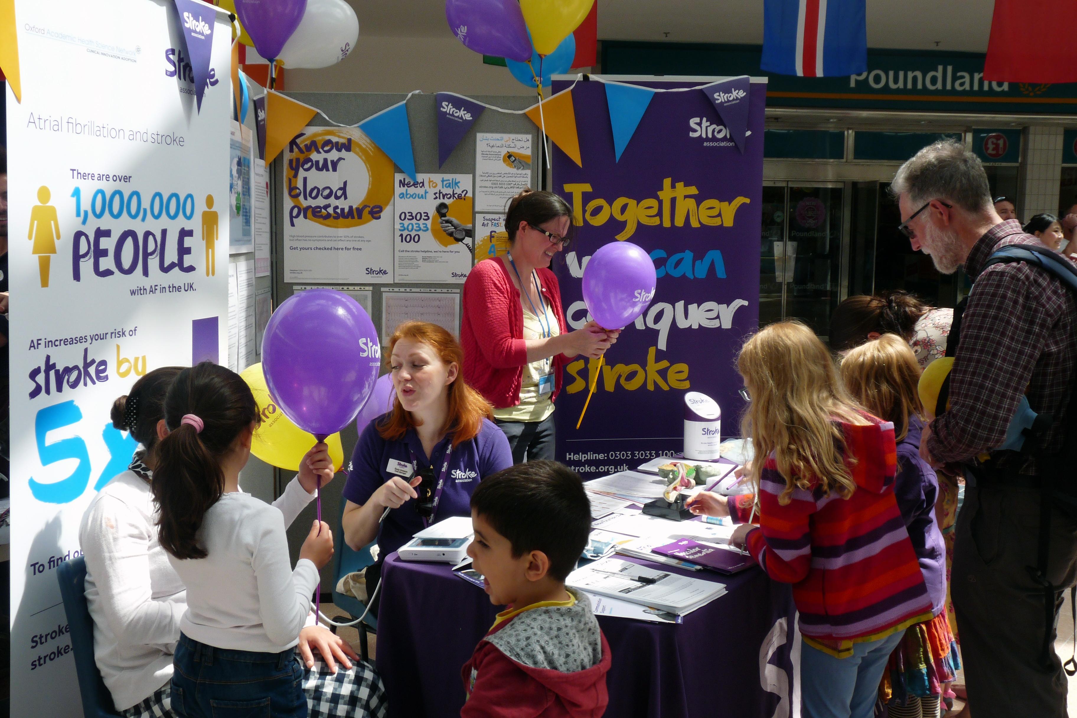 Oxfordshire science festival health fair