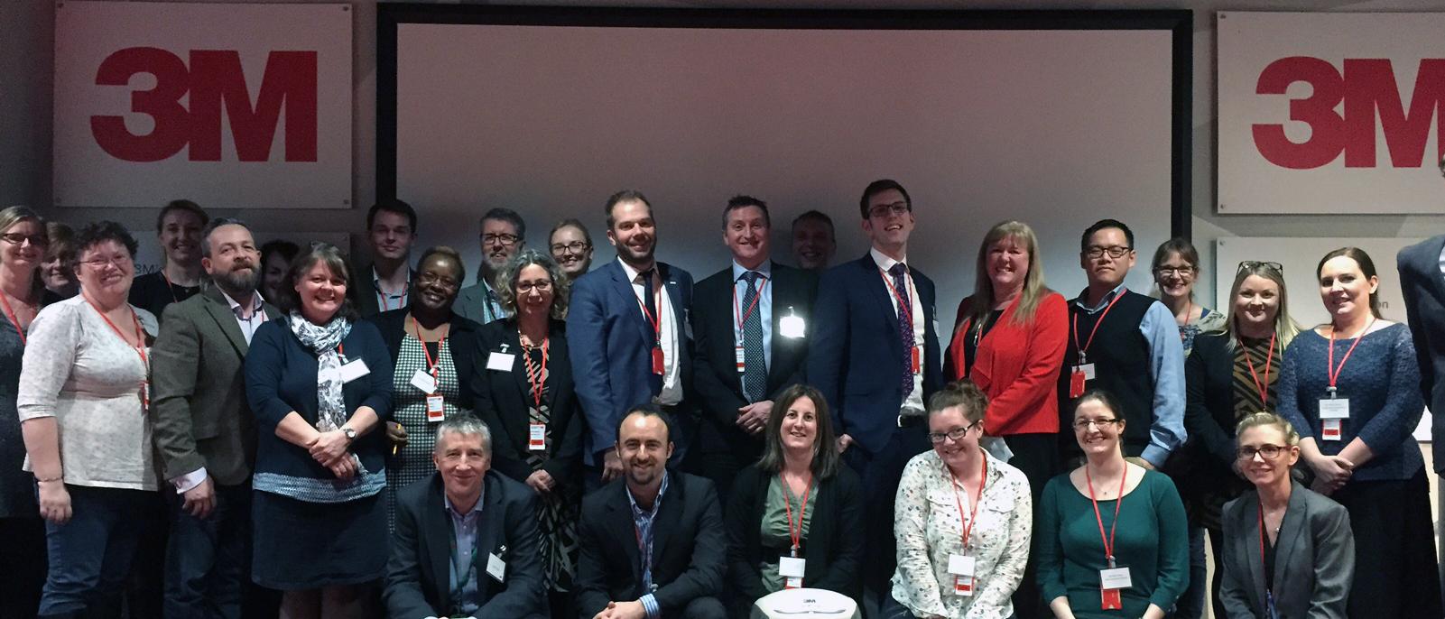 Healthcare innovators 3M visit Jan 2016
