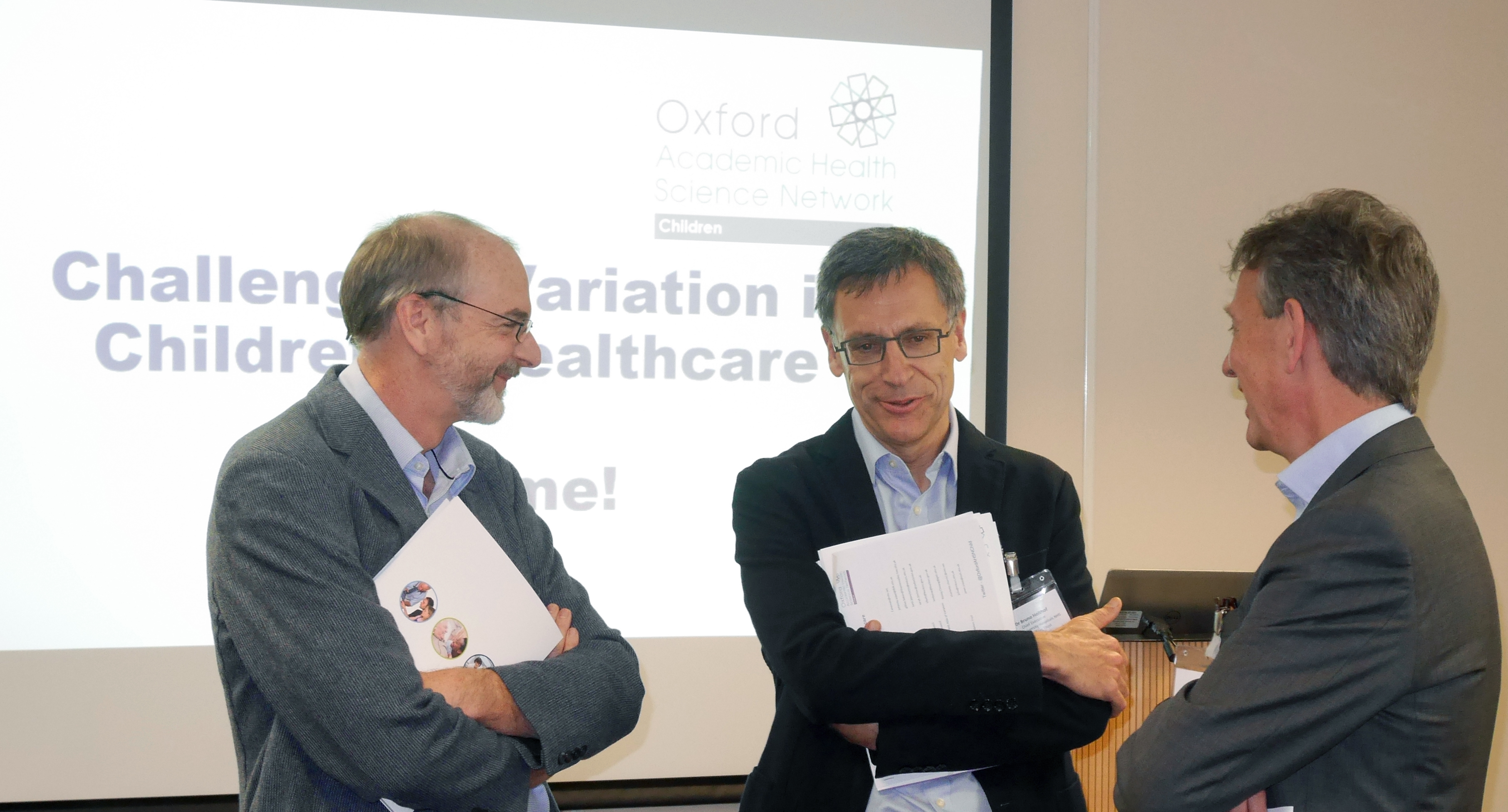 Andrew Pollard, Bruno Holthof, Gary Ford, Challenging variation in children's care