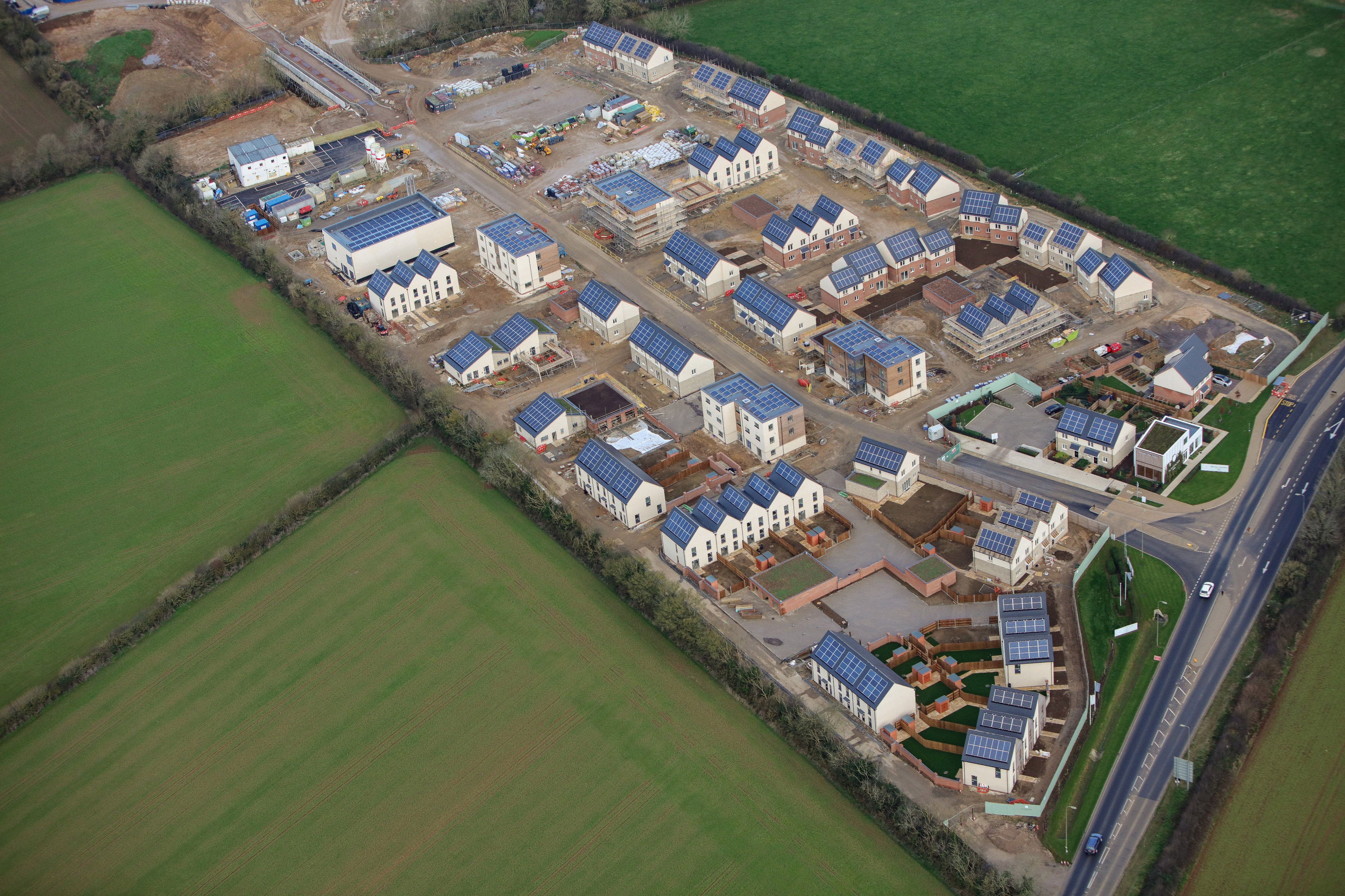 NW Bicester Healthy New Town development