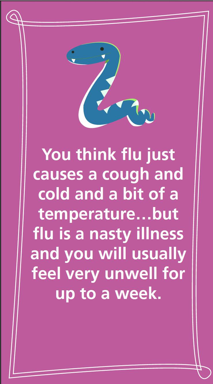 Children's flu immunisation campaign