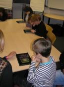 Children play the new Monster Manor app
