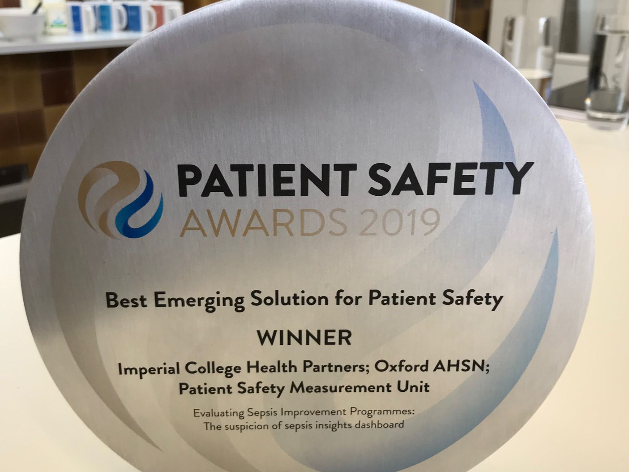 HSJ patient safety award SOS