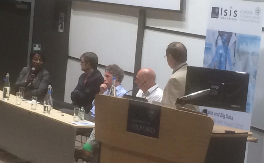 Tracey Marriott, left, on the Technology Showcase expert panel