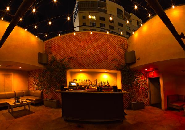 Mezzanine Bar Overlooking Dance Floor