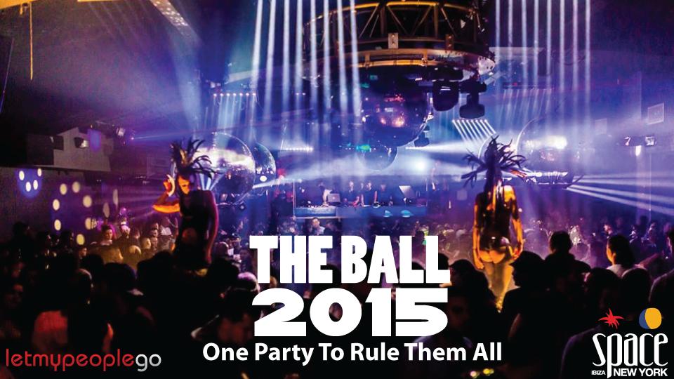 The Ball 2015 in NYC at Space Ibiza NY