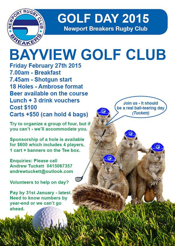 Golf Day - Feb 27th 2015