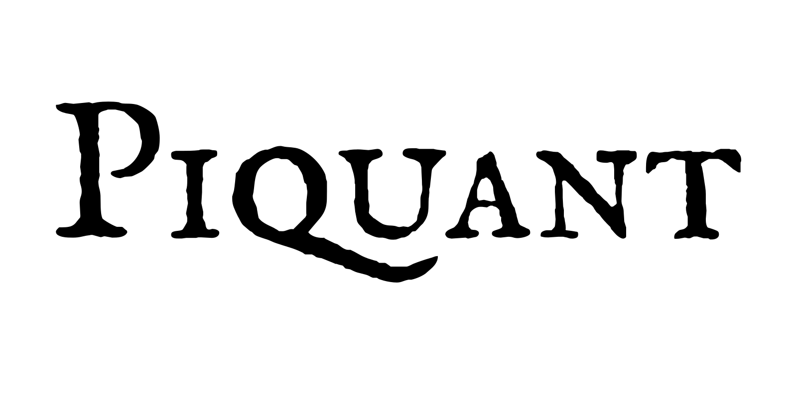 Piquant wordmark