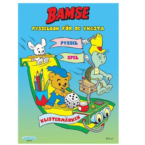 Bamse, Pysselbok för de yngsta