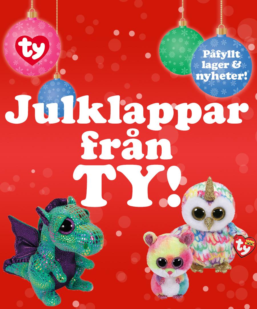 Julklappar från TY Nordic - åter i lager & nyheter!