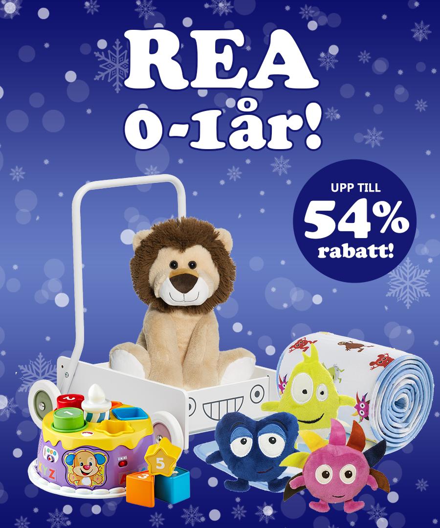 Rea 0-1Ã¥r med upp till 54% rabatt!