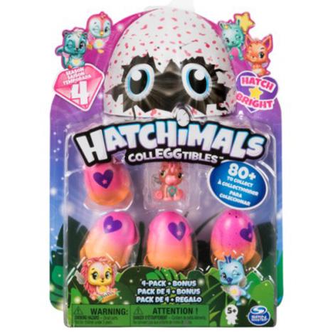 Hatchimals, Celeggtibles 4-pack bonus
