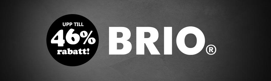 BRIO med upp till 46% rabatt!