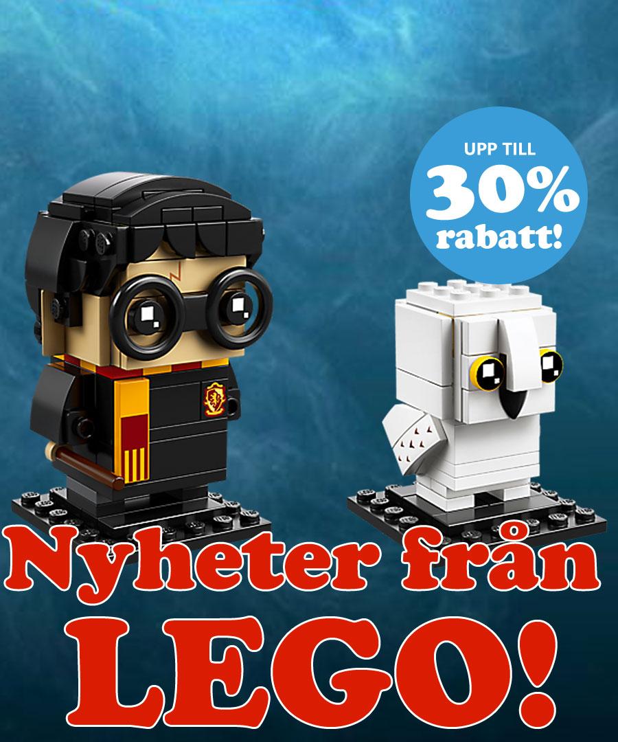 Nyheter från LEGO!
