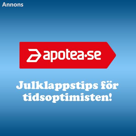 Apotea.se - Julklappstips för tidsoptimisten!