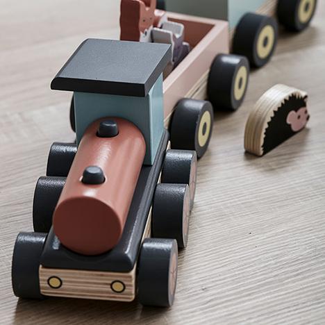 Kids Concept, Edvin - Djurtåg 319kr