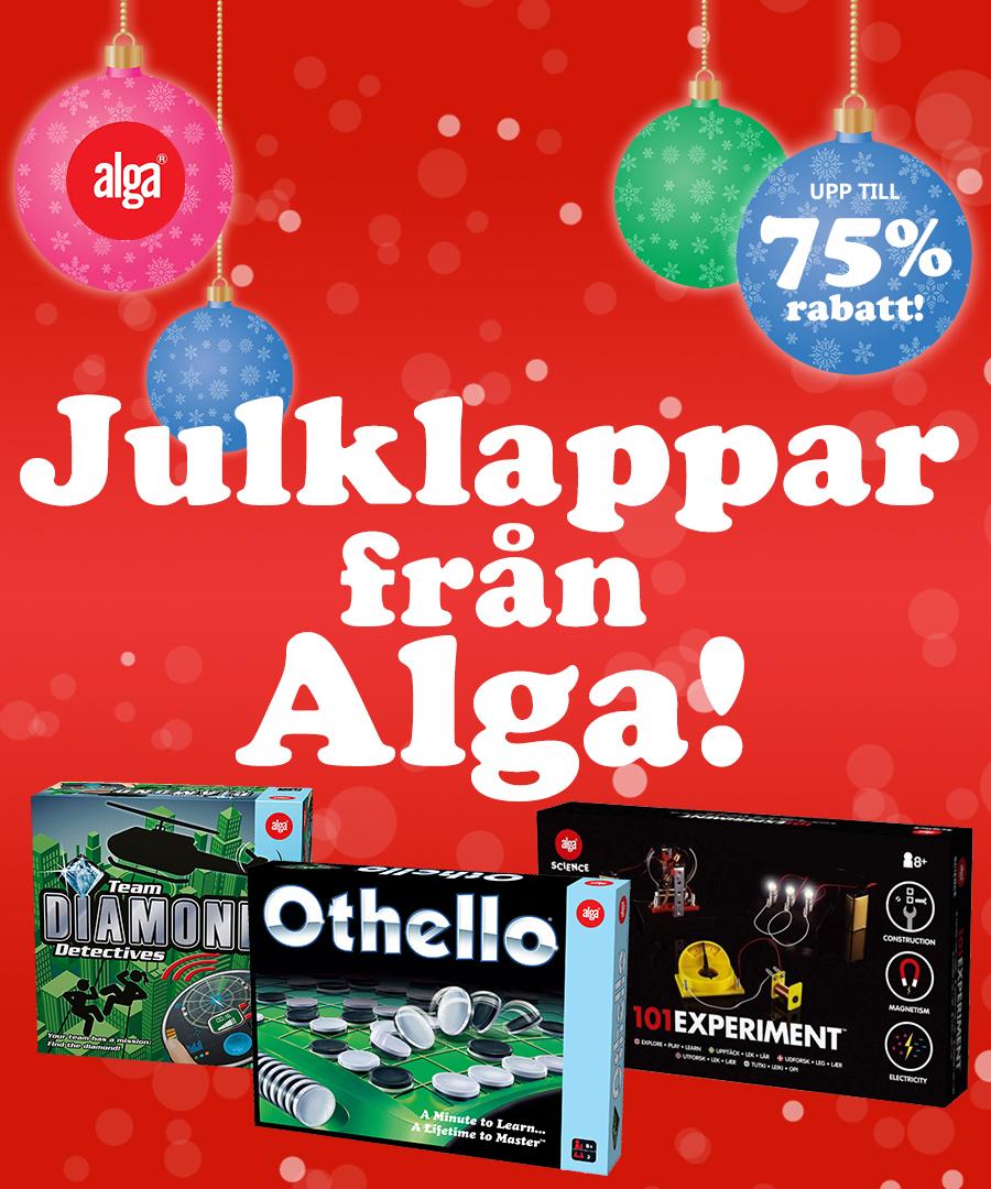 Julklappar från Alga med upp till 75% rabatt!