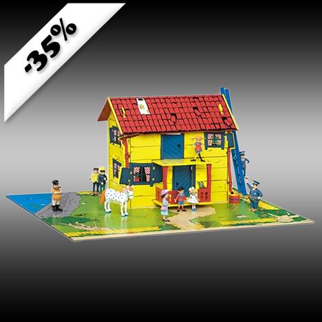 Pippi, Villa villekulla med lekplatta 389kr
