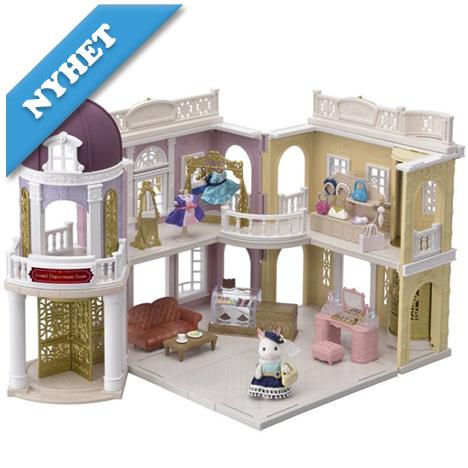 Grand department + figur & möbler