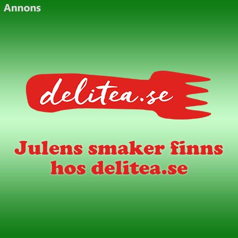 Julens smaker finns hos delitea.se