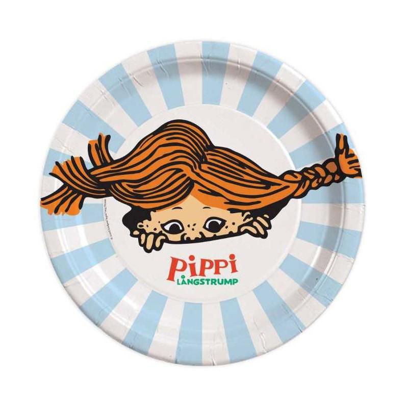 Pippi, Tallrikar 8 st