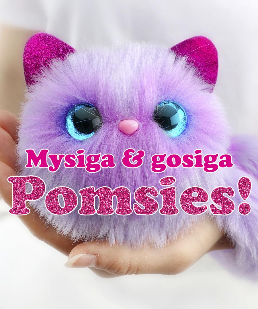 Mysiga och gosiga Pomsies