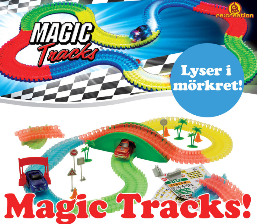Magic Tracks - lyser i mörkret!