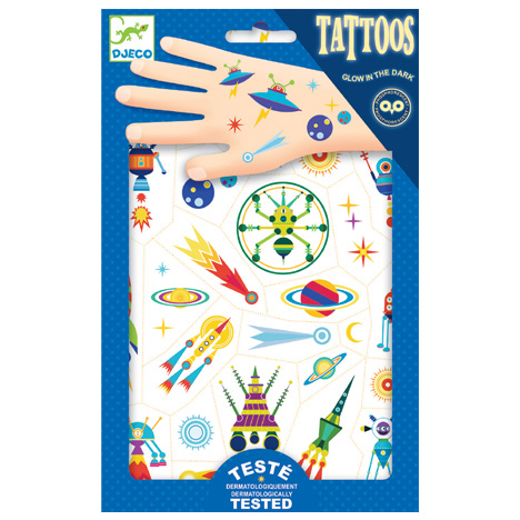 Djeco, Tattoo, Space Oddity