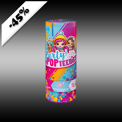 Party PopTeenies, Surprise Poppers 49kr