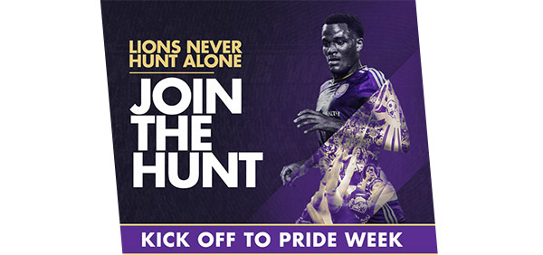 Kick off to Pride Week with Orlando City