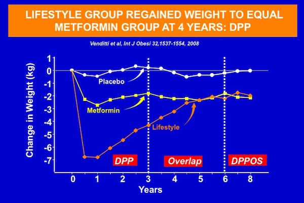 Weight regain in the DPP study