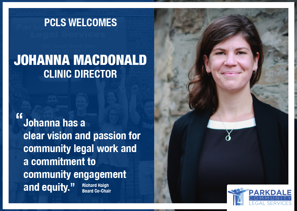 PCLS welcomes our new Clinic Director