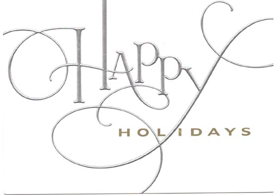 Happy Holiday wishes from the folks at HGI.
