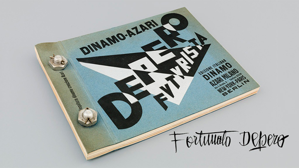 Depero Futurista (The Bolted Book) by Fortunato Depero